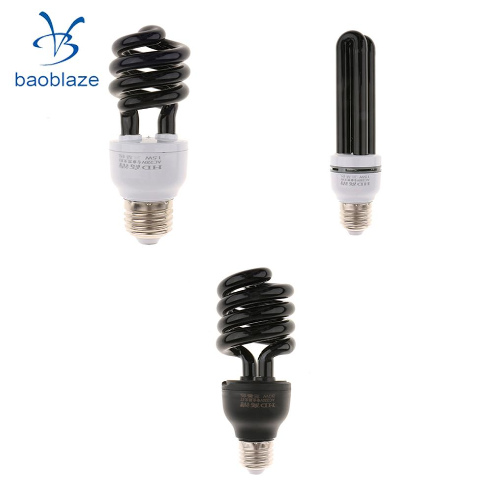 Baoblaze 220V UV Blacklight Fluorescent Glowing Bulb CFL Light Bulb ... for glowing cfl bulb  14lpgtk