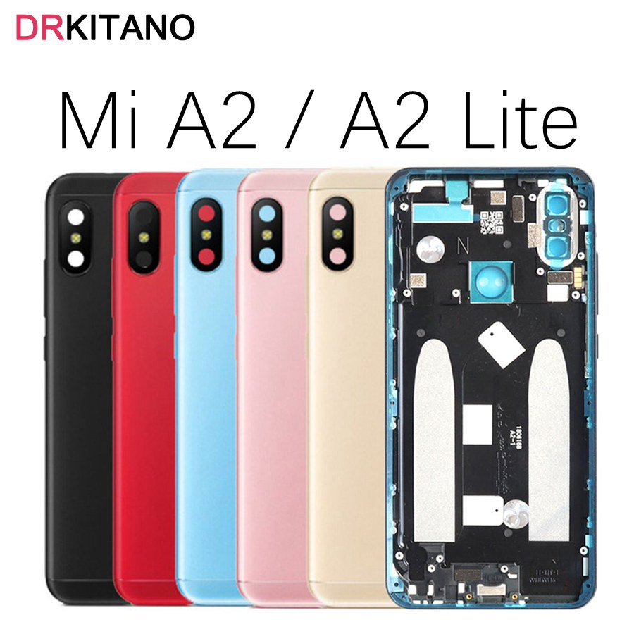 Xiaomi Mi A2 Lite Battery Cover Back Housing Rear Door
