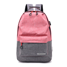 Multicolor School Backpack Bags For Teenage Girls Women Bagpack Female Bolsa Escolar Kawaii Corduroy bookbag