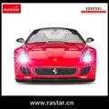 Licenciado Rastar Ferrari 599 GTO 1:14 China manufactory 4 canal de carro de rc com luz para venda 47100