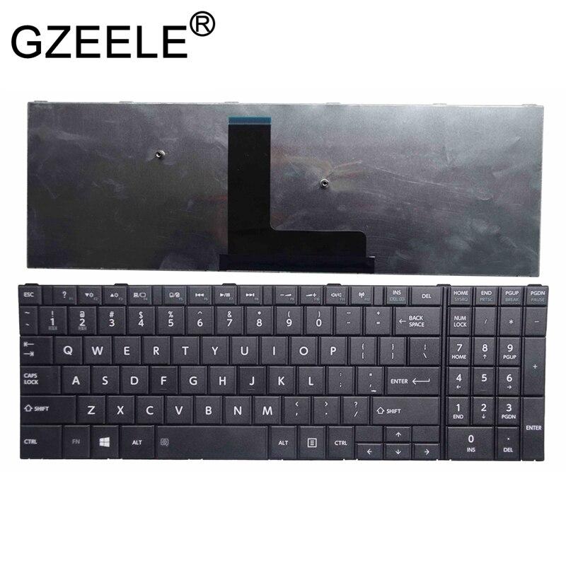 GZEELE NEW For Toshiba Satellite Pro R50 R50-B C50T-B US Black Keyboard Laptop / Notebook QWERTY US English C55D-B5102 GZEELE NEW For Toshiba Satellite Pro R50 R50-B C50T-B US Black Keyboard Laptop / Notebook QWERTY US English C55D-B5102