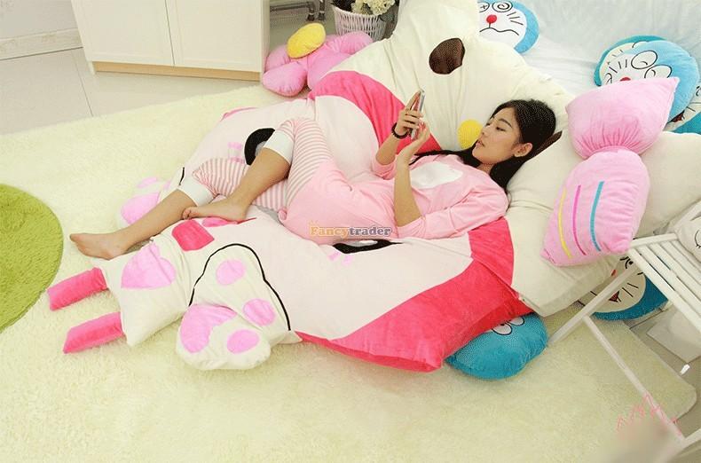 Fancytrader 230cm X 165cm Huge Giant Pink ALI Fox Bed Carpet Sofa Tatami, Free Shipping FT90360 (8)