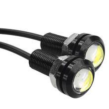 10 X 9W 18mm 12V  White LED Eagle Eye Light Car Fog DRL Daytime Reverse Backup Parking Signal