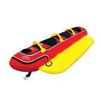 Inflatable water park games banana boat