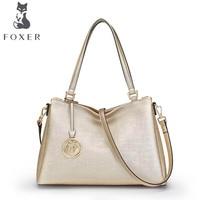FOXER2018 High Quality Fashion Luxury Brand New Shoulder Bag Leisure Large Capacity Ladies Handbag Messenger Bag