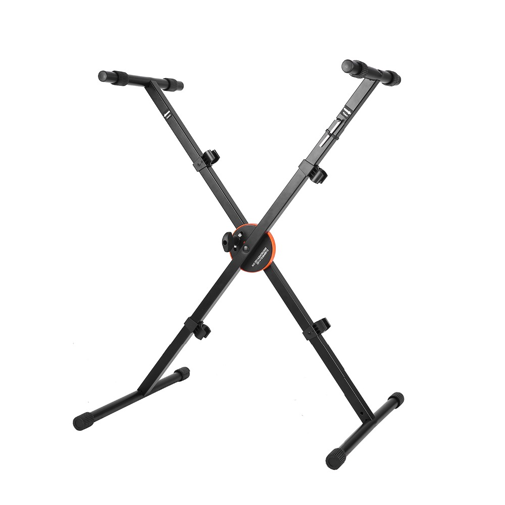 Neewer reg X Style Heavy Duty Folding Keyboard Stand with Height Control Lock and Non slip
