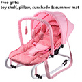 Fashion Portable Baby Rocking Chair, Multifunctional Couch, Newborn Cradle for 0-12 months Baby Siting, Reclining & Lying