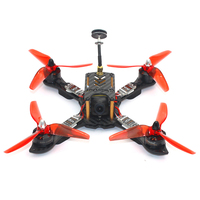210 мм Мини RC Quadcopter Racer FPV Racing Drone АРФ с 2300KV двигателя 700TVL Камера F4 Pro (V2) полет контроллер