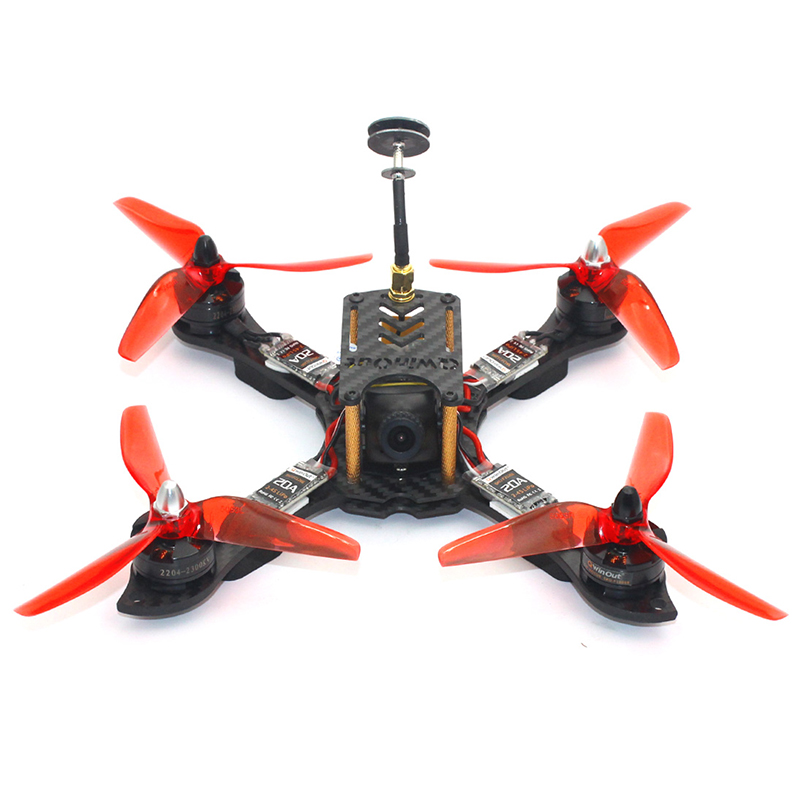 210mm Mini RC Quadcopter Racer FPV Racing Drone ARF with 2300KV Motor 700TVL Camera F4 P ...