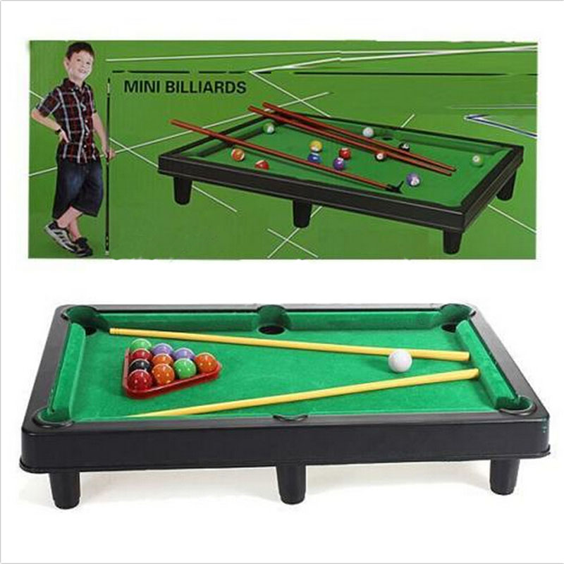 Attractive Mini Billiard Ball Board Games Table Tennis Tabletop Pool Table Top Desktop  Game Set Toy Kid