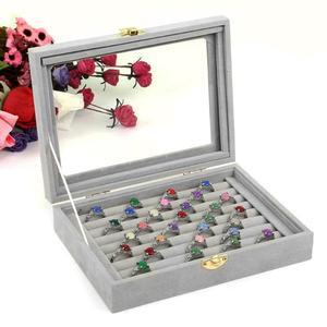 Hot Sale Velvet Glass Jewelry