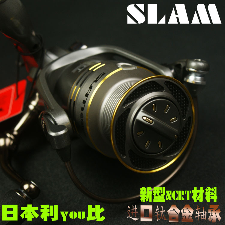 <font><b>RYOBI</b></font> fishing line reel SLAM 1000/2000/<font><b>3000</b></font>/4000 spinning reel metal lure fishing line winder 100% original image