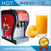 3 pumps three valves fresh drinks red and blue colors can choose fresh cola beverage dispenser for sale