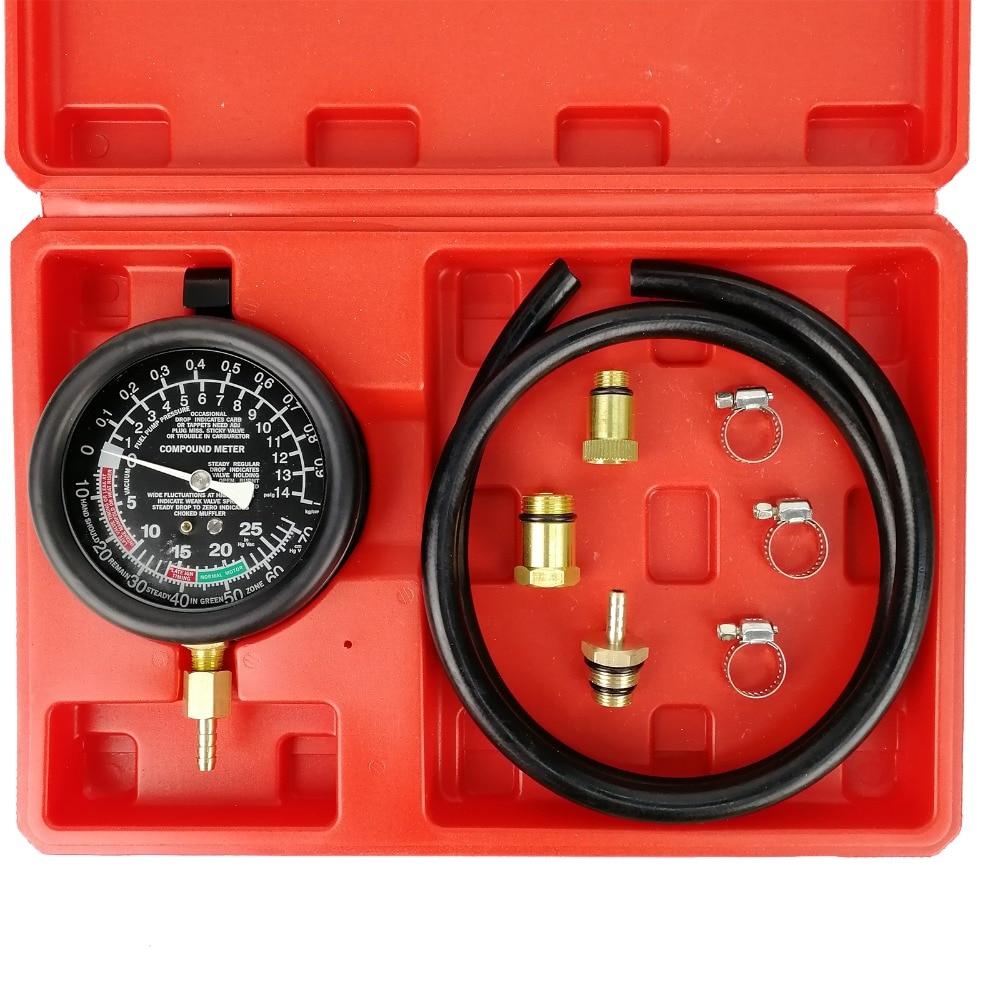car engine exhaust back pressure tester