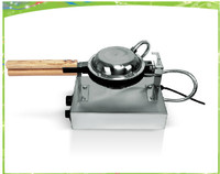 Temperature displayed Stainless steel electric egg cake machine/ Hong Kong Egg Oven/QQ Egg Waffle Baker on sale