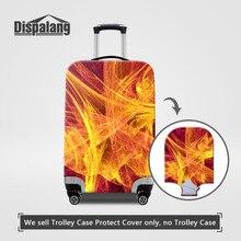 Эластичный Защитный чехол для багажа Dispalang, подходит для 18 ''-30'', чехол с изображением волшебного огня, чемодан, пылезащитный чехол, аксессуары для путешествий