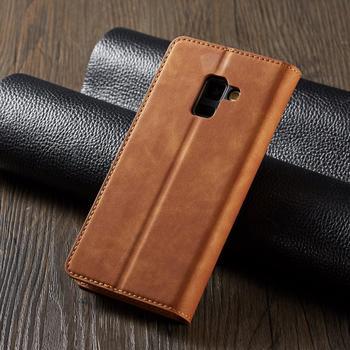 Galaxy A8 Plus Leather Case 1