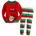 2017 Children Kids Christmas Pajamas Set Baby Boys Girls Character Pyjamas Suits Girl Autumn Winter Sleepwear pyjama enfant