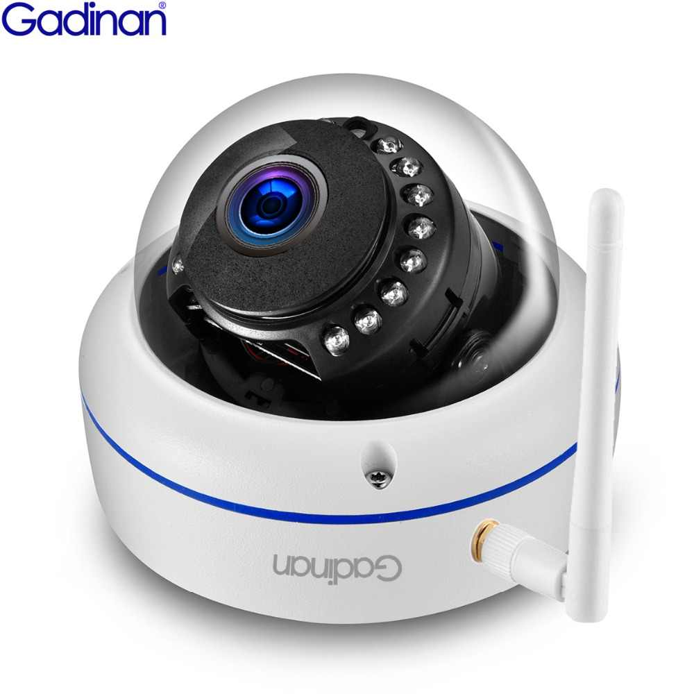 Gadinan Full HD 1080P 720P Wifi Camera ONVIF 2MP IP Camera Night Vision Vandalproof SD Card Outdoor Camera Yoosee Motion Detect
