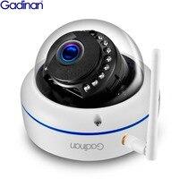 Gadinan Full HD 1080P 720P Wifi Camera ONVIF 2MP IP Camera Night Vision Vandalproof SD Card Outdoor Camera Yoosee Motion Detect