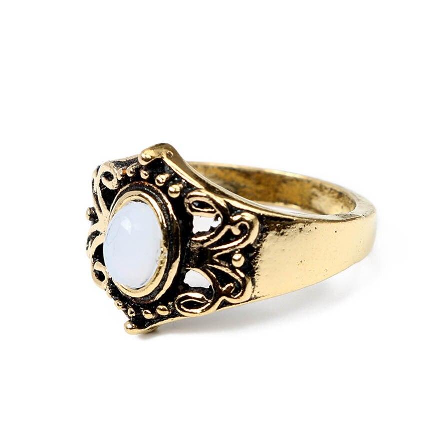 Aliexpress Buy 5pcs Set Boho Flower moon silver gold Ring