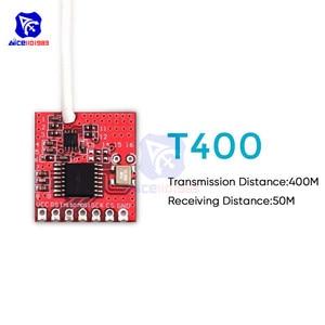 Image 3 - 2.4G 400M émetteur et récepteur sans fil émetteur récepteur Module GWB T400 IIC SPI Interface pour Arduino télécommande jouets
