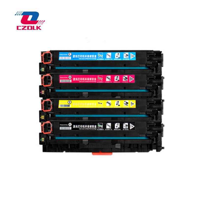 New compatible CE410A CE411A CE412A CE413A <font><b>305A</b></font> Toner Cartridge for <font><b>HP</b></font> LaserJet 300 M351 M375nw M451 M475dn M475dw 4pcs/set image