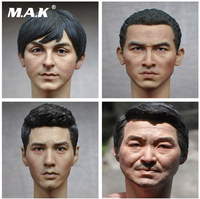 1 6 Scale Male Head Sculpt European American Men Head Carving For 12 Inches Action Figures