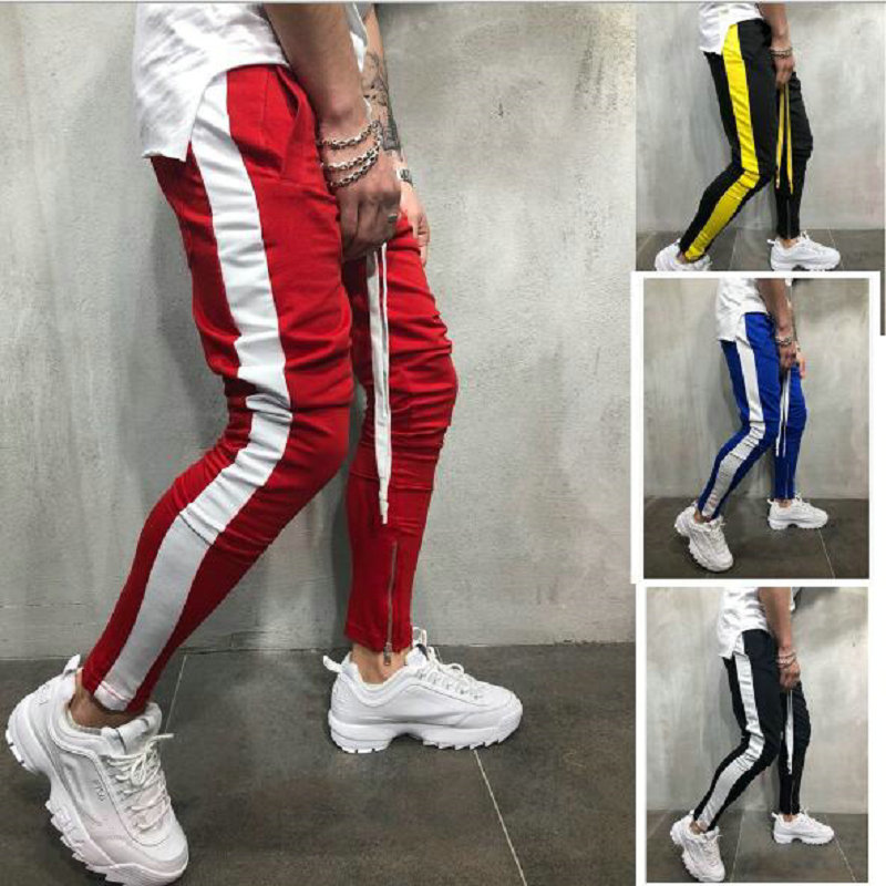 2019 Hot Sale Men Pants Hip Hop Sportswear Fitness Joggers Trousers Mens Streetwear Track Pants Sweatpant Pantalon Hombre