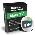 Mars TV arabic iptv panel for Android tv box 1 year&2 years code 1200+ Live TV 1000 Free VOD