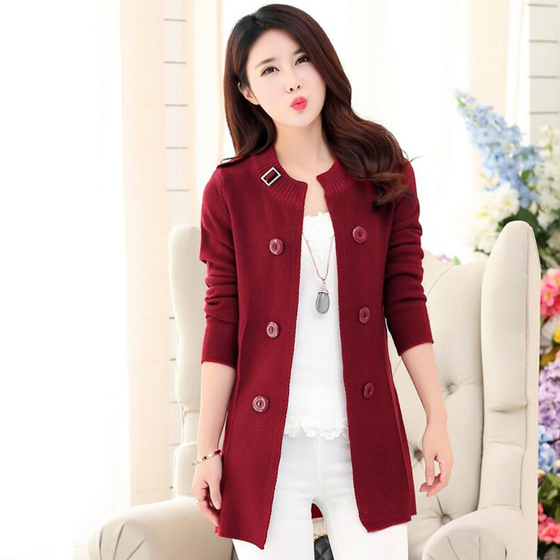 Fashion Women Cardigans Sweater 2015 Autumn Winter New Design ...