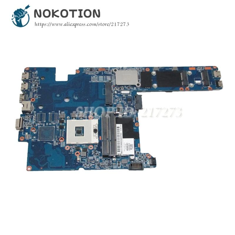 NOKOTION For Hp Probook 4340S 4341S Laptop Motherboard 683856-001 48.4RS01.011 MAIN BOARD HM76 UMA DDR3