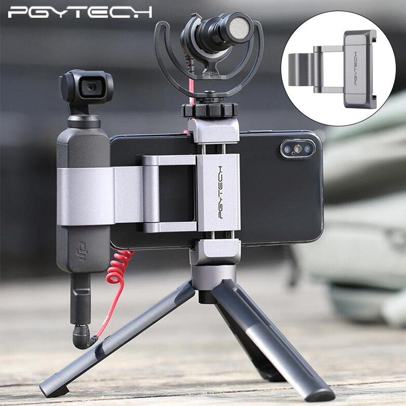 En alliage d/'aluminium Support Holder Mount Base Adaptateur Support pour DJI Osmo Pocket Cam