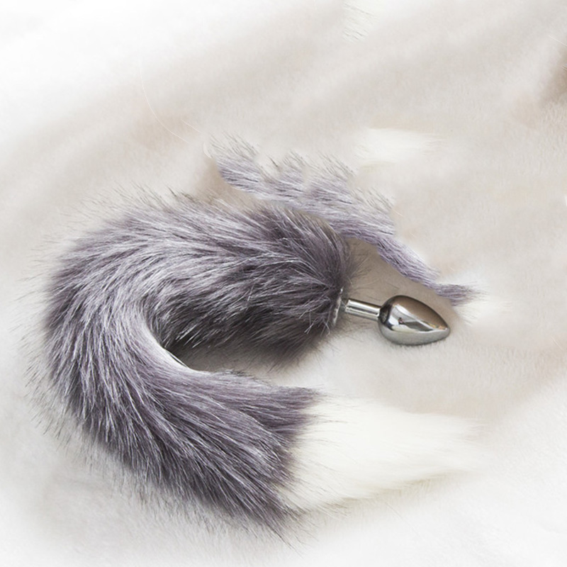 Anime Cosplay Fox Tail Unisex Halloween Family Cos Props Couples Life Flirting Tail Anal Plug Wide Varieties Costumes & Accessories Novelty & Special Use