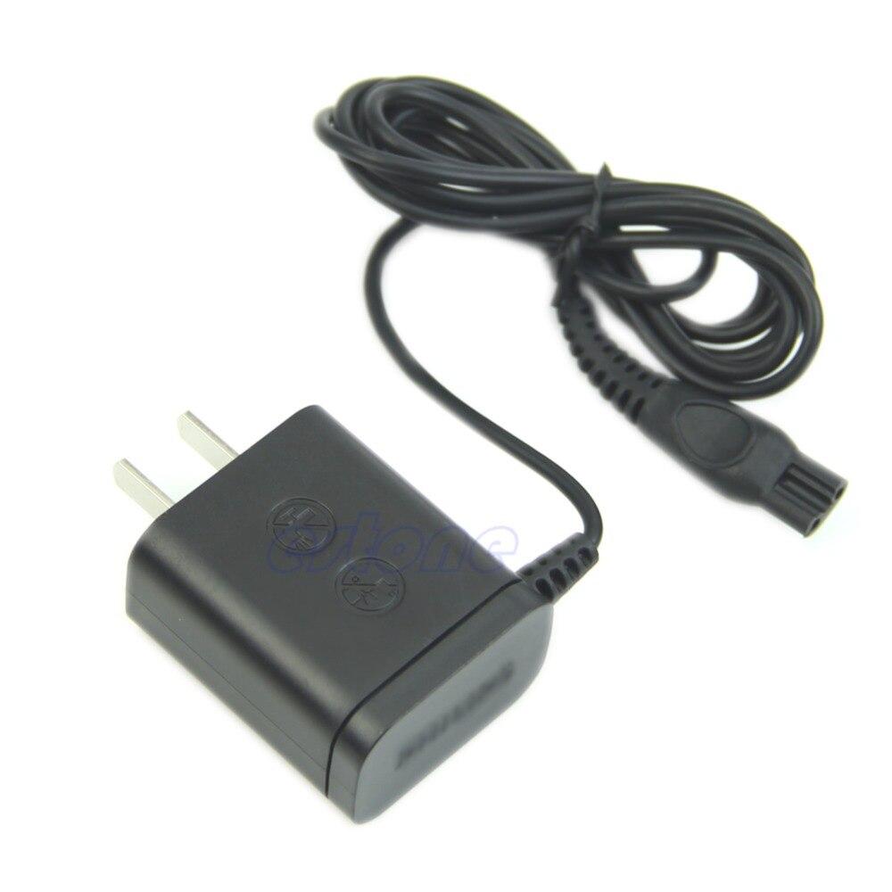 Универсальный Мощность Бритвы Зарядное устройство адаптер Шнур для <font><b>Philips</b></font> Norelco бритвы США Разъем