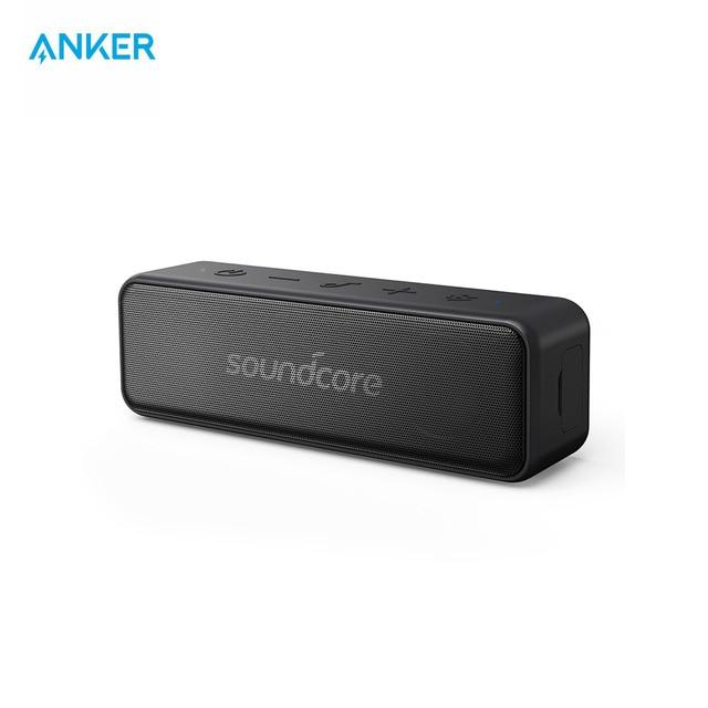 Anker Soundcore movimiento B Altavoz Bluetooth portátil con 12 W más fuerte sonido estéreo IPX7 impermeable 12 + Hr ya- duradera de juego