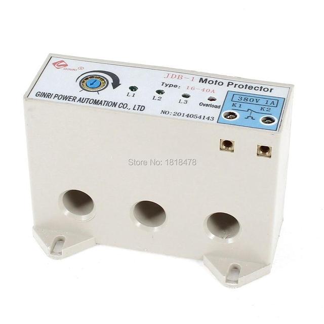 JDB 1 3 Phase 16 40 Ampere Einstellbare Strom Motor Schaltung Schutz ...