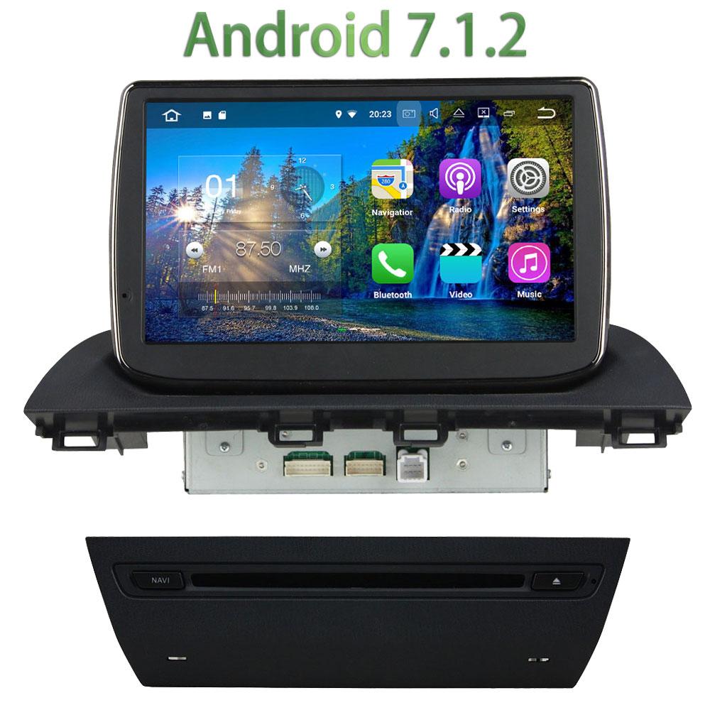 1024 600 2GB RAM 1 Din Android 7 1 2 Quad core font b Bluetooth b