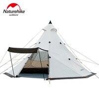 Naturehike Pyramid tent 5 8 camping tent windbreak rainstorm Park outdoor camping super large tent