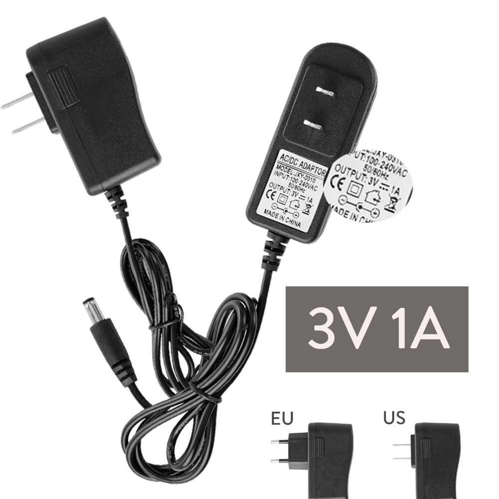 DC 12V 3V 6V 19V 20V 1A 200mA 300mA 500mA 600mA wtyczka do usa ue adapter do zasilacza transformatora do taśmy LED światła wejście 100-240V