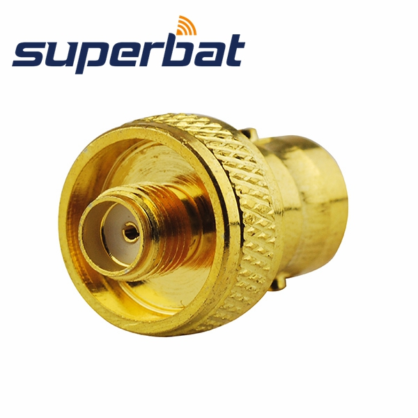 Superbat 5pcs RF Adapter BNC Female Jack To SMA Female Coaxial Connector