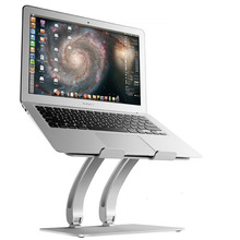 Free shipping For Macbook laptop stand aluminum desktop base cervical bracket For pro Apple cooling bracket Desktop lift
