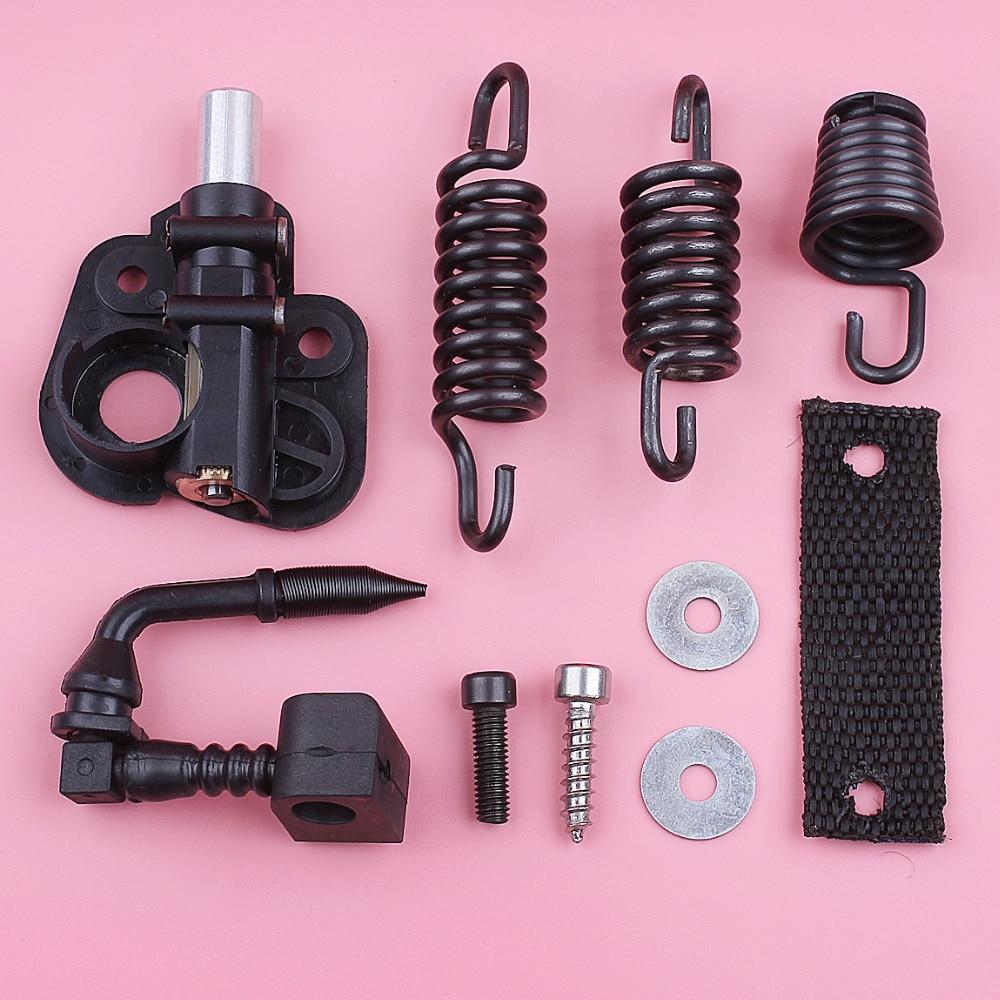 AV Buffer Mount Shock Spring Set For Partner 350 351 370 371 390 420 Oil Pump Oiler Chainsaw Spare Replace Part