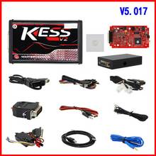 KESS V2 V2.47 V5.017 Red PCB ECU Programming Tool Online Master Version OBD2 Manager Tuning Kit 5.017 BDM Probe Adapters