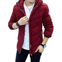 Winter Jacket Men Casual New Hooded Thick Padded Jacket Zipper Slim Men And Women Coats Men Parkas Outwear Warm Coat 543