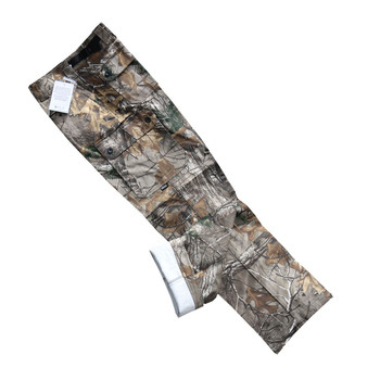 Top Quality Bionic Camouflage Hunting Pants 100% Cotton Breathable Muti-pocket Hiking Camping Fishing Long Trousers for Men