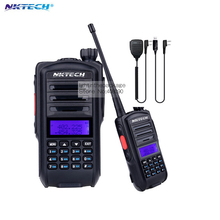 NKTECH Radio Comunicador UV-82 Plus VS Baofeng Walkie Talkie Two Way Ham Radio Transceiver Band 136-174/400-520MH +MIC+CD