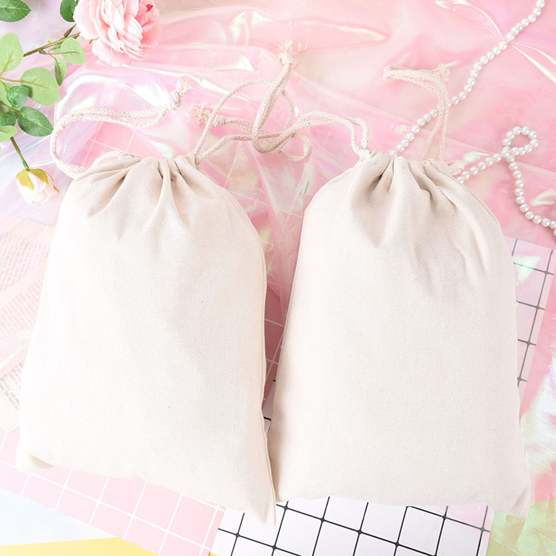 4 Sizes Drawstring Bags Travel Tea/candy/key Package Small Beam Rope Pouches Cotton Linen Gift Bag цена 2017