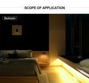 Image 5 - LED תחת קבינט אור לבן/חם לבן RGB USB LED רצועת מטבח ארון לילה אור מרחוק בית מלתחת LED דיודה קלטת luz A1