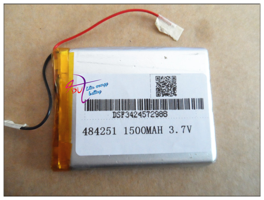 Manufacturers supply electric tools, medical equipment 484251 3.7 v 1500mah lithium polymer battery